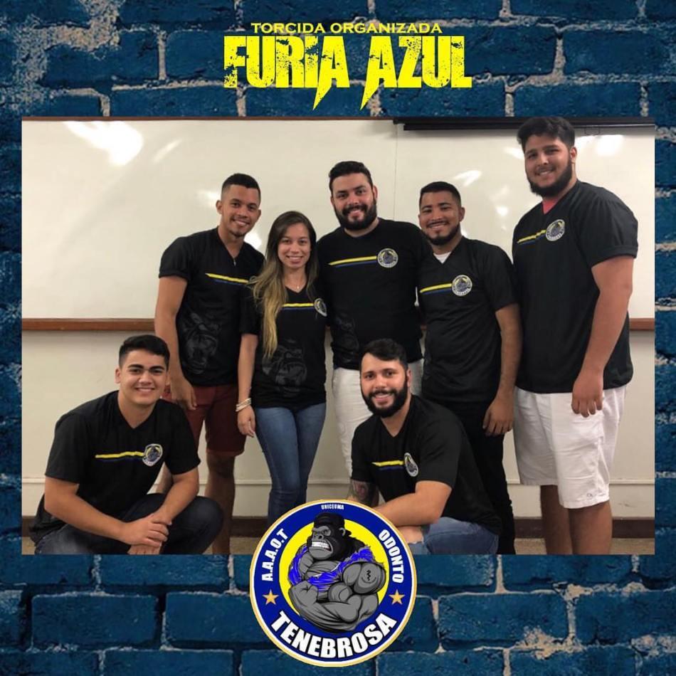 MATÉRIA Associação Atlética Acadêmica saiba o que é e como funciona - Integrantes da Atlética Tenebrosa de Odontologia.