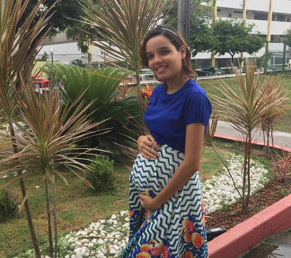 MATÉRIA Universitárias enfrentam os desafios de conciliar a maternidade com os estudos - Larissa Martins, estudante de Jornalismo