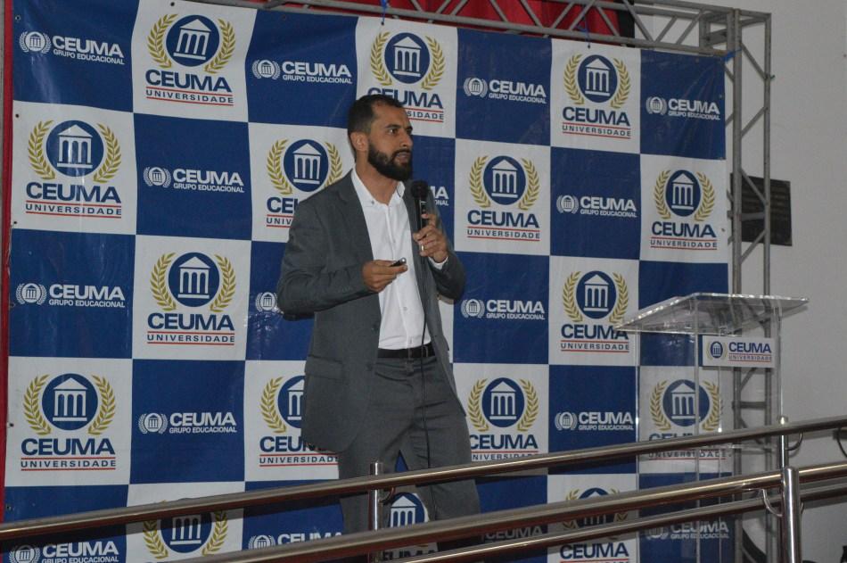 Marlon Lemos, educador físico com doutorado em Ciência da Saúde.