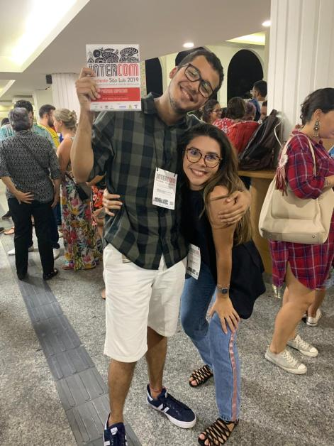 Emmanuel Menezes e Samya Marques