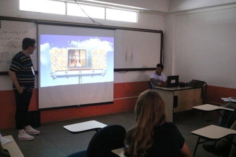 Estudantes apresentam trabalhos para concorrer ao Prêmio Expocom